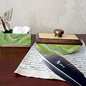 "Канцелярские товары handmade. Livemaster - original item Office set ""Elegy"". Handmade."