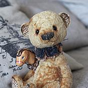 Куклы и игрушки ручной работы. Ярмарка Мастеров - ручная работа плюшевый медвежонок Тёма. Handmade.