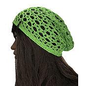 Аксессуары handmade. Livemaster - original item Caps: Openwork hat Stella. Handmade.