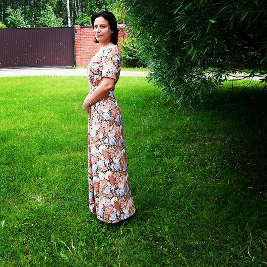 Платья ручной работы. Ярмарка Мастеров - ручная работа. Купить Платье летнее ( 4 ). Handmade. Платье