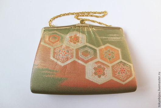 клатч, сумочка, сумка, вечерняя сумочка, сумочка для леди, японская сумочка, сумочка в подарок, клатч япония, японские подарки, театральная сумочка, сумочка на выход, винтаж, сумочка, японская сумочка, необычная сумочка, сумочка для подарка, парча, клатч из парчи