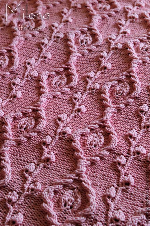Пледы и одеяла ручной работы. Ярмарка Мастеров - ручная работа. Купить Плед из хлопка Розовая Нежность.. Handmade. Бледно-розовый