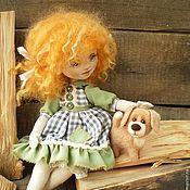 """Куклы и игрушки ручной работы. Ярмарка Мастеров - ручная работа """"Мой  храбрый защитник!"""" Текстильная авторская кукла. Handmade."""