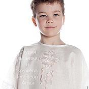 Работы для детей, handmade. Livemaster - original item Christening shirt
