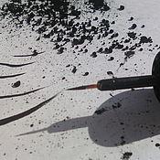 Косметика ручной работы. Ярмарка Мастеров - ручная работа Подводка для глаз  «Черная ночь». Handmade.