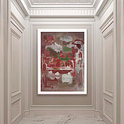 Картины и панно handmade. Livemaster - original item Poster Mark Rothko-Untitled Reprint Museum Quality. Handmade.