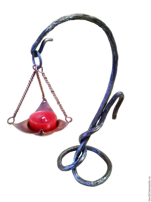 """Подсвечники ручной работы. Ярмарка Мастеров - ручная работа. Купить Подсвечник """"Лампада"""". Handmade. Комбинированный, лампада, подарок для женщины"""