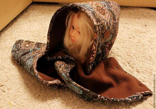 Шарфы и шарфики ручной работы. Ярмарка Мастеров - ручная работа. Купить Супер тёплый шарф-капюшон. Handmade. Пейсли, уют