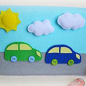 Куклы и игрушки ручной работы. Ярмарка Мастеров - ручная работа Машинки на дороге (на липучках). Handmade.