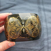 Украшения handmade. Livemaster - original item bracelet with the author`s painting