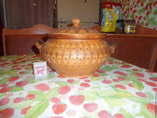 Сервизы, чайные пары ручной работы. Ярмарка Мастеров - ручная работа. Купить жаровня супница. Handmade. Керамика ручной работы