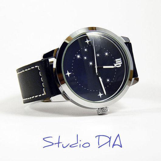 Дизайнерские Часы Знак Зодиака Дева. Студия Дизайнерских Часов DIA.