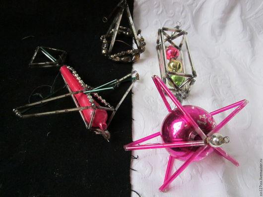 Винтажные куклы и игрушки. Ярмарка Мастеров - ручная работа. Купить (5-4-К-Я) Елочная игрушка 50-е.г. под реставрацию .Винтаж. Handmade.