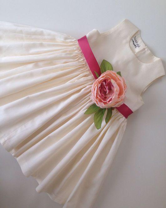 """Одежда для девочек, ручной работы. Ярмарка Мастеров - ручная работа. Купить Платье для принцессы """"Нежный пион"""". Handmade. Платье"""