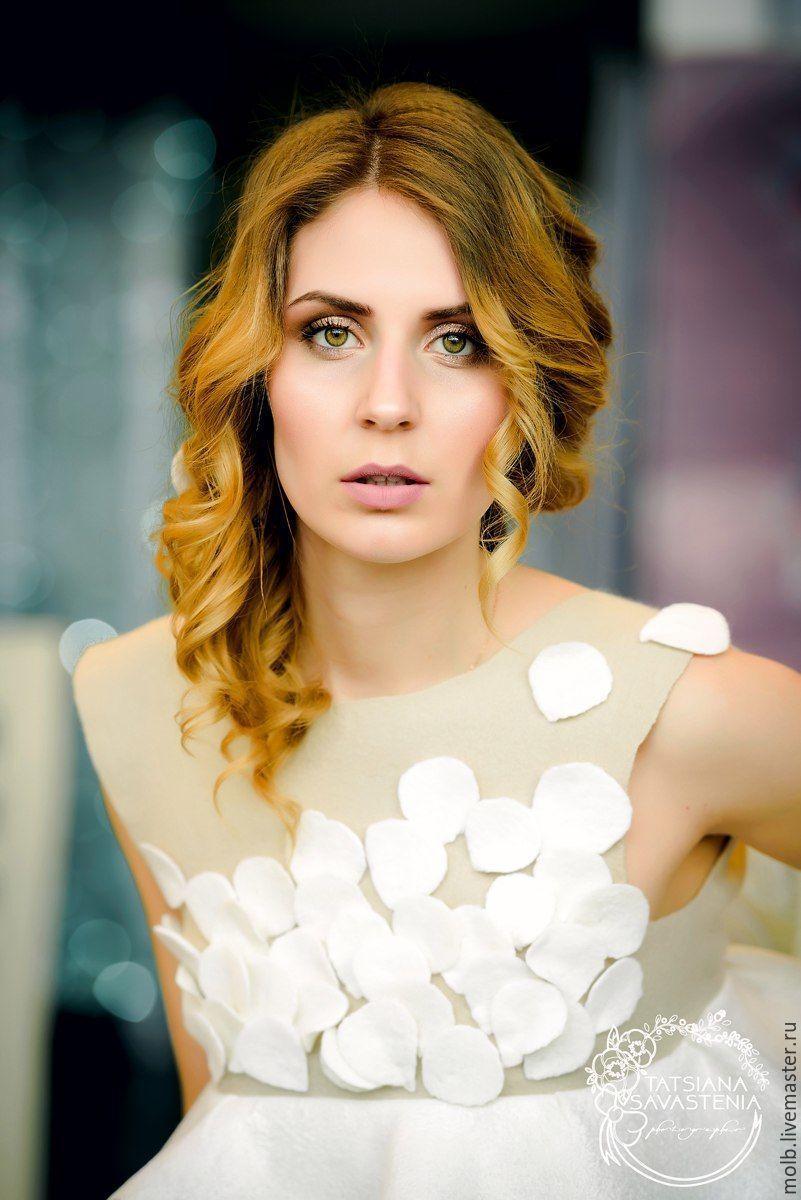 Felted dress ' Petals', Dresses, Minsk,  Фото №1