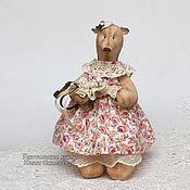 """Куклы и игрушки ручной работы. Ярмарка Мастеров - ручная работа Мишка """"Настасья"""". Текстиль. Handmade."""