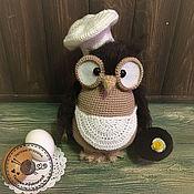Куклы и игрушки ручной работы. Ярмарка Мастеров - ручная работа Сова Омлетта. Handmade.
