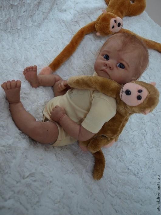 Куклы-младенцы и reborn ручной работы. Ярмарка Мастеров - ручная работа. Купить кукла реборн Милена. Handmade. Оранжевый