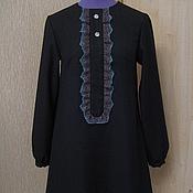 Одежда ручной работы. Ярмарка Мастеров - ручная работа Короткое элегантное платье. Handmade.