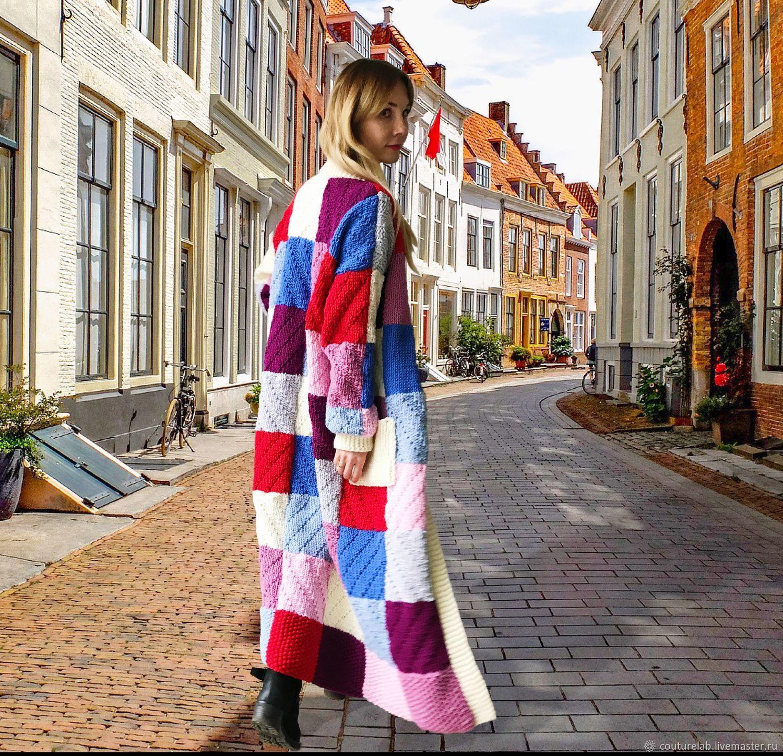 Кардиган `Будь в центре внимания` от бренда вязаной одежды ручной работы SHAPAR в интернет-магазине кардиганов на ярмарке мастеров! Купить модный и яркий кардиган на осень 2017 девушке, женщине. стиль