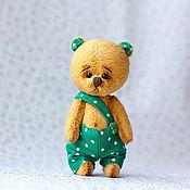 Куклы и игрушки ручной работы. Ярмарка Мастеров - ручная работа мишка Тоби. Handmade.