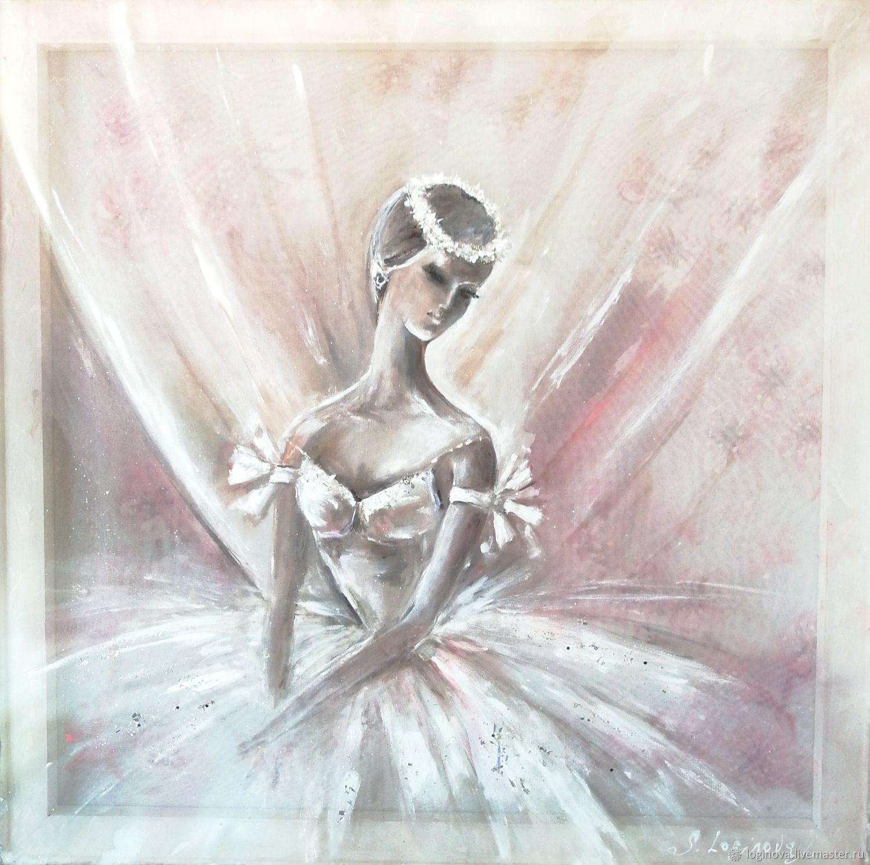 БАЛЕРИНА, картина с балериной, балет, Картины, Находка,  Фото №1