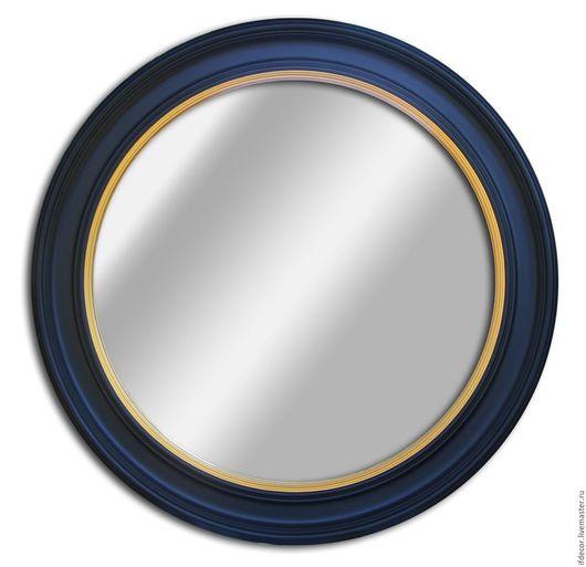 """Зеркала ручной работы. Ярмарка Мастеров - ручная работа. Купить Настенное зеркало """"Зарин"""". Handmade. Разноцветный, заказать зеркало"""