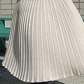 Одежда ручной работы. Ярмарка Мастеров - ручная работа Плиссированная юбочка-2. Handmade.