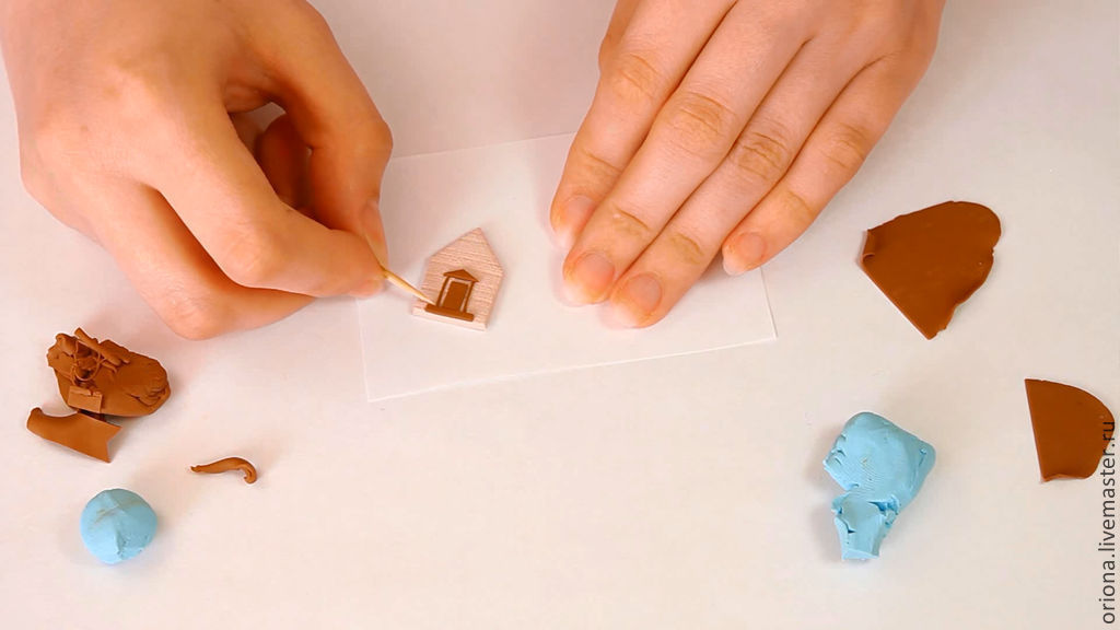 Мастер класс по миниатюрам домиков