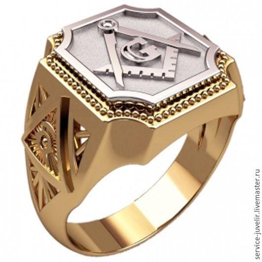 Кольцо мужское Geometry, Украшения, Пенза, Фото №1