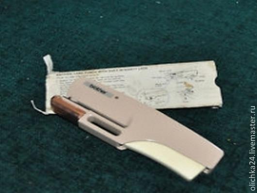 Вязание ручной работы. Ярмарка Мастеров - ручная работа. Купить перфаратор. Handmade. Перфаратор, узоры, перфакарты, белый, металл, пластик