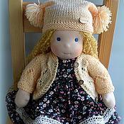 Куклы и игрушки ручной работы. Ярмарка Мастеров - ручная работа Оленька, вальдорфская кукла для девочки. Handmade.