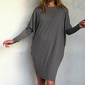 Одежда ручной работы. Ярмарка Мастеров - ручная работа Платье TRIANGLE Сhocolate. Handmade.