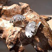 Украшения handmade. Livemaster - original item Rose quartz. earrings. Handmade.