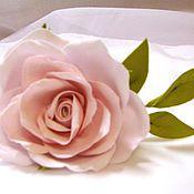 """Украшения ручной работы. Ярмарка Мастеров - ручная работа Шпилька для волос """"Розовая роза"""". Handmade."""