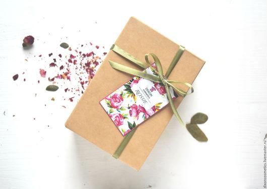 """Подарочные наборы косметики ручной работы. Ярмарка Мастеров - ручная работа. Купить Подарочный набор """"Rosie"""". Handmade. Розовый"""