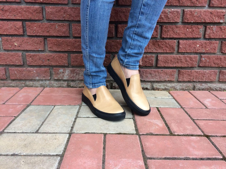 315f42414 Обувь ручной работы. Ярмарка Мастеров - ручная работа. Купить Женские  слипоны на черной подошве ...
