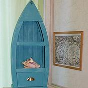 Для дома и интерьера ручной работы. Ярмарка Мастеров - ручная работа Стеллаж Лодка. Handmade.