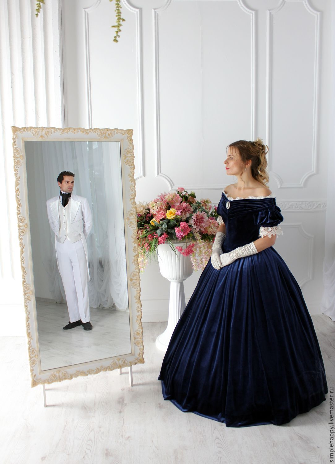Civil War era ball gown – shop online on Livemaster with shipping ...