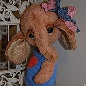Куклы и игрушки ручной работы. Ярмарка Мастеров - ручная работа Слоник Дея. Handmade.
