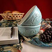 """Посуда ручной работы. Ярмарка Мастеров - ручная работа Пиалы керамические """"Нежные"""". Handmade."""