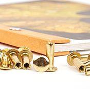 Винты для альбомов 10 мм 20 шт, скрапбукинга, металлические
