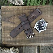 Украшения handmade. Livemaster - original item Watchband: strap 22 mm. Handmade.