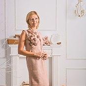 Одежда handmade. Livemaster - original item The pearl Pink gown. Handmade.