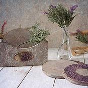 Для дома и интерьера handmade. Livemaster - original item Stand under the hot memories of Provence. Decoupage. Handmade.