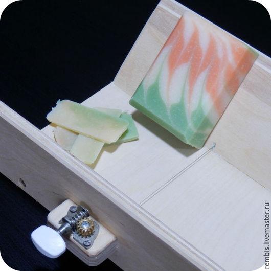 Материалы для косметики ручной работы. Ярмарка Мастеров - ручная работа. Купить Кромкорезка для срезания уголков мыла. Handmade. Бежевый, нулевка