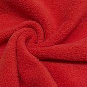 Ткани ручной работы. Ярмарка Мастеров - ручная работа Ткань флис полартек красный   390 гр.. Handmade.