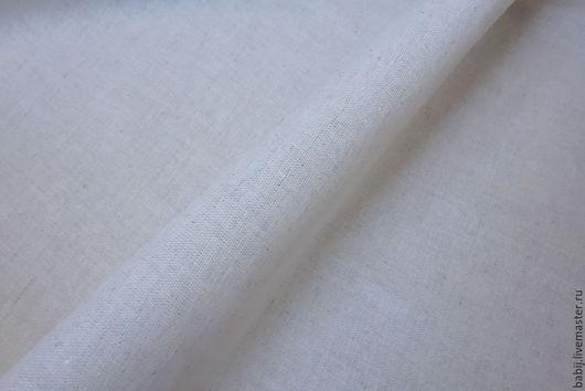 Шитье ручной работы. Ярмарка Мастеров - ручная работа. Купить Ткань льняная светло-серая. Handmade. Ткань, льняная ткань
