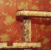 Для дома и интерьера ручной работы. Ярмарка Мастеров - ручная работа Декоративные полочки. Handmade.