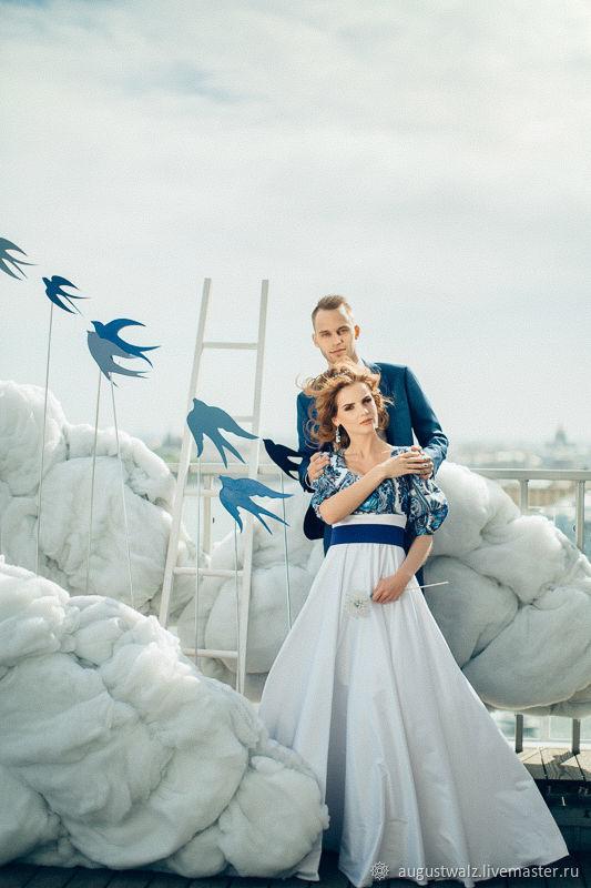 Свадебное платье в Русском стиле, платье в стиле А-ля Русс, Платья, Санкт-Петербург,  Фото №1
